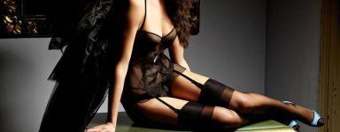 Verleidelijke lingerie voor dames en niet alleen in het zwart