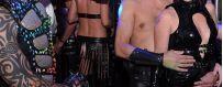Spannende en uitdagende leren heren kleding en lingerie