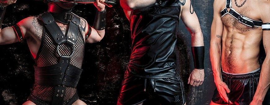 Leatherlook en imitatie lederen heren kleding
