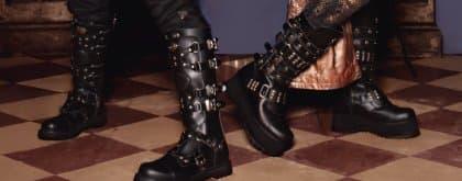 Lingerie Plein ook voor stoere heren schoenen